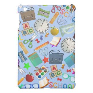 Collage of School Supplies iPad Mini Case