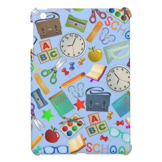 Collage of School Supplies iPad Mini Cover