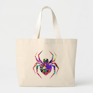 Collage of Spiders Large Tote Bag