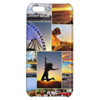 Collage of the Cape iPhone 5C Covers