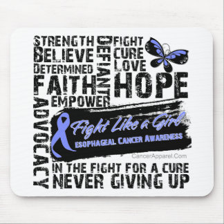 Collage of Words - Esophageal Cancer Mousepad