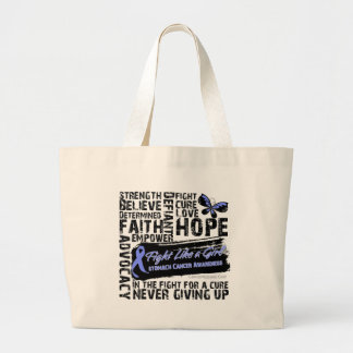 Collage of Words - Stomach Cancer Bags
