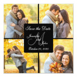 COLLAGE PHOTO SAVE THE DATE ANNOUNCEMENT