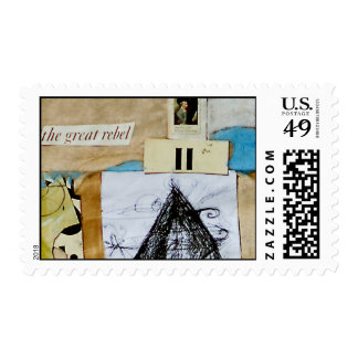 COLLAGE POSTAGE