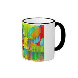 Collage Ringer Mug