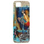 Collage romántico de París del vintage iPhone 5 Carcasa
