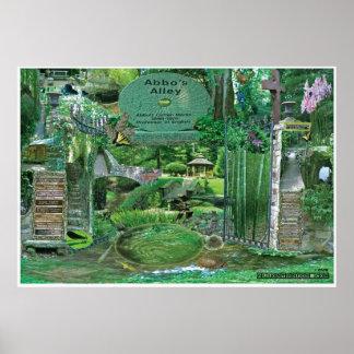 Collage Sewanee, TN OlioStudios.com del callejón d Póster