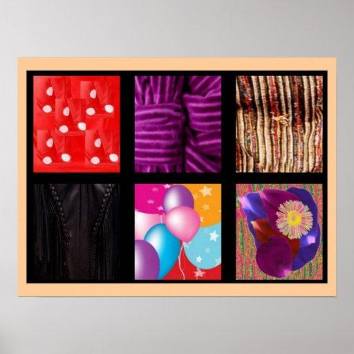 Collage V1 de las celebraciones de NOVINO Posters