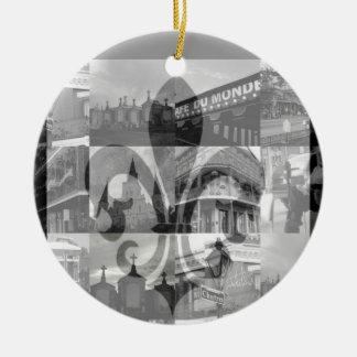 Collage v.2 [ornamento] de New Orleans Adorno De Reyes
