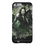Collage verdoso del vector de Aragorn Funda Barely There iPhone 6