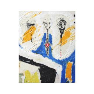Collages Bruyants Artist's Book Shrunken Heads C Canvas Print