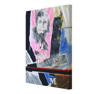 Collages Bruyants Artist's Book stuck in life CP Canvas Print