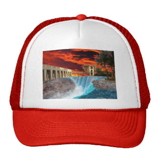 Collapse pool trucker hat