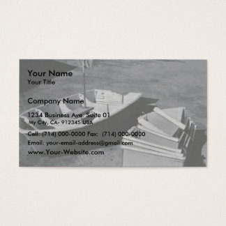 Collapsible Boat Business Card