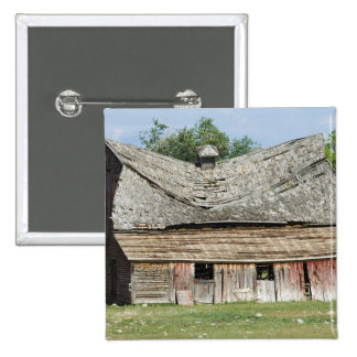 Collapsing Barn 2 Inch Square Button