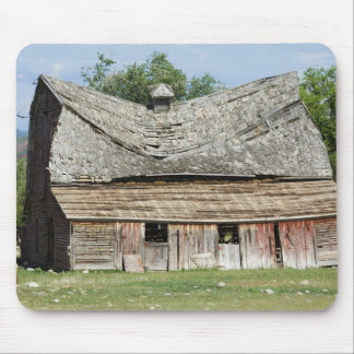 Collapsing Barn Mouse Pad