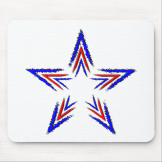 collapsing star mouse pad
