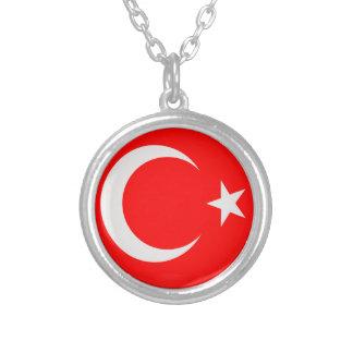 """Collar + 18"""" bandera de cadena del turco de Turkie"""