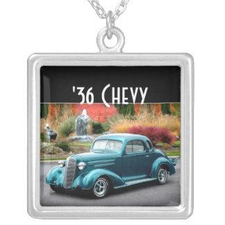 Collar 1936 del coche de carreras del cupé de Chev