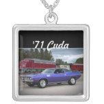 Collar 1971 de Cuda Mopar del Barracuda de
