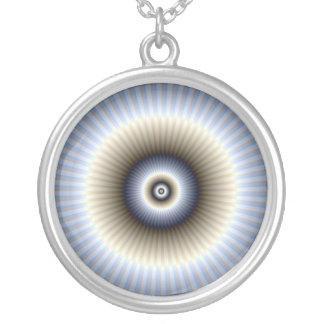 Collar abstracto circular