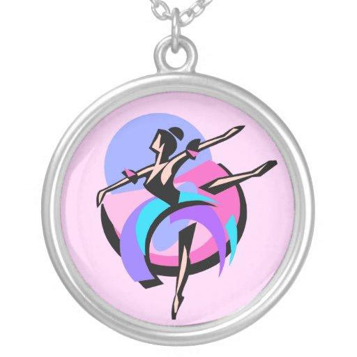 Collar abstracto de la bailarina