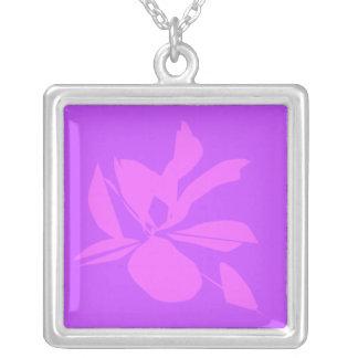 collar abstracto de la flor