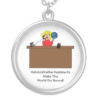 Collar administrativo del mundo de los