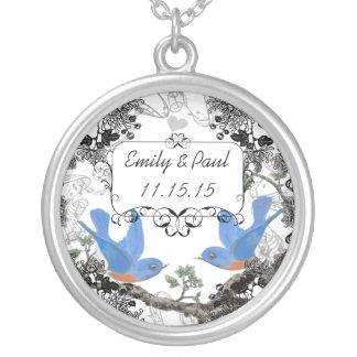 Collar afortunado del aniversario del Bluebird de