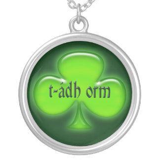 Collar afortunado irlandés