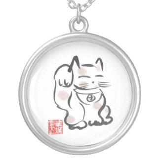 Collar afortunado japonés del gato