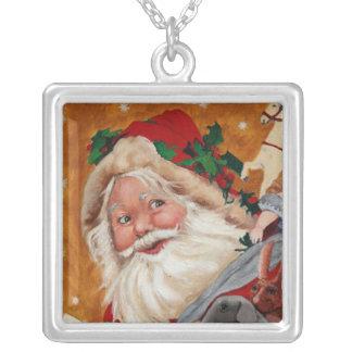 Collar alegre de Santa