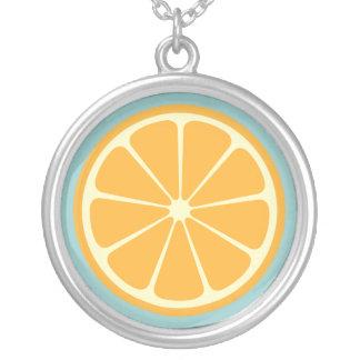 Collar anaranjado con sabor a fruta dulce
