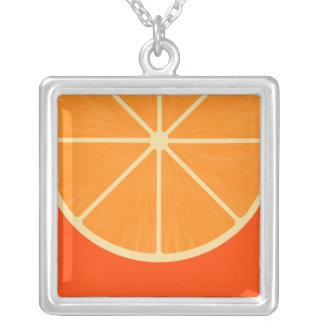 Collar anaranjado lindo de Kawaii