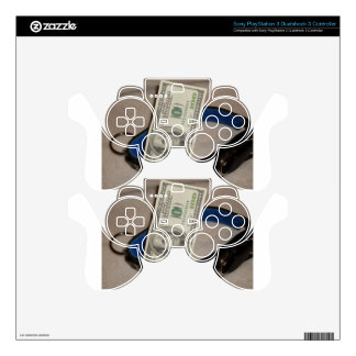 COLLAR AND CASH PS3 CONTROLLER SKIN