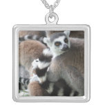 Collar atado anillo de los Lemurs