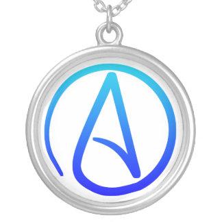 Collar ateo del símbolo