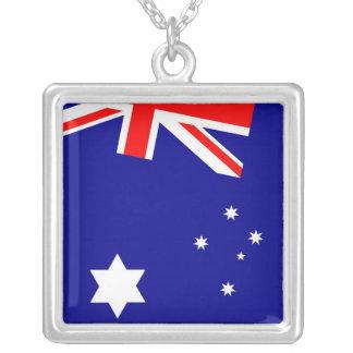Collar australiano del cuadrado de la bandera