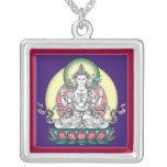 COLLAR Avalokiteshvara (Chenrezig) - cuadrado