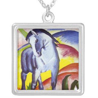 Collar azul del caballo de Franz Marc