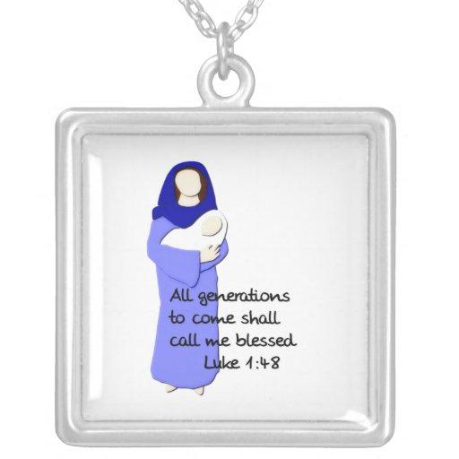 Collar bendecido del Virgen María
