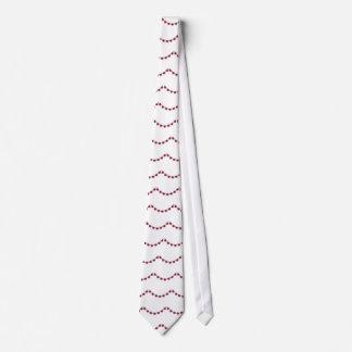 Collar bonito del rubí de la mujer corbata
