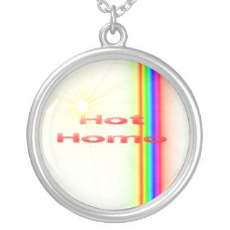 Collar caliente del homo