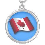 Collar canadiense de la bandera