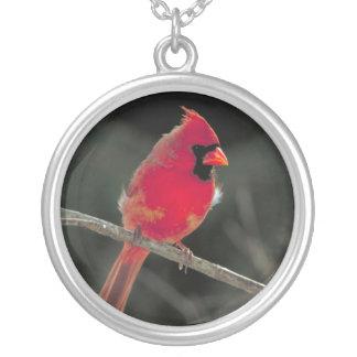 Collar cardinal rojo