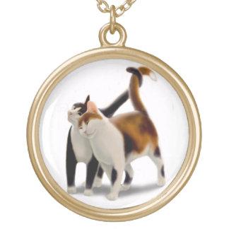 Collar cariñoso de los amigos del gato
