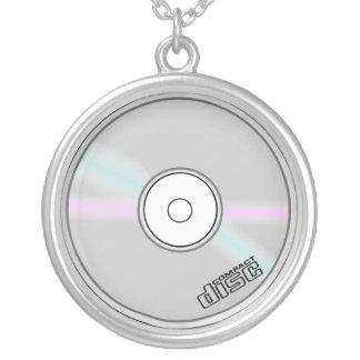 Collar CD de la música del disco compacto