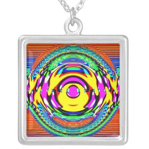 Collar colorido de la bola de cristal