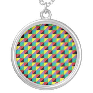 Collar colorido del modelo de mosaico