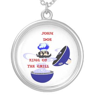 Collar con el rey del regalo de Miester de la parr